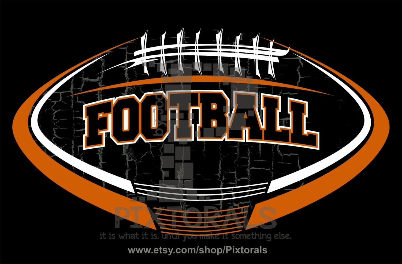 Football Vector! Football Logo Design As PNG, JPG (high