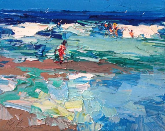 Image Result For Acrylic Paintings Beach Scenes