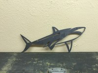 Shark Metal Art Jaws Metal Wall Decor Fixer Upper Boys