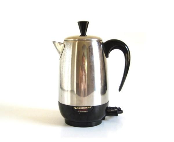 Farberware Superfast Coffee Pot Electric Percolator 138