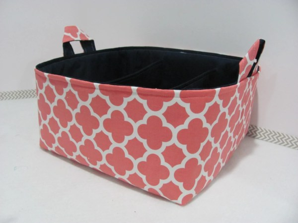 Fabric Diaper Caddy Storage Organizer Bin Hipbabyboutique