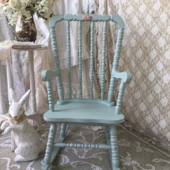 Jenny Lind Rocking Chair Discount Covers Shabby Vintage Children 39s