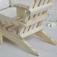 Miniature Adirondack Chairs Buy Chair Covers Online Australia Ready To Paint Wood Supplies For