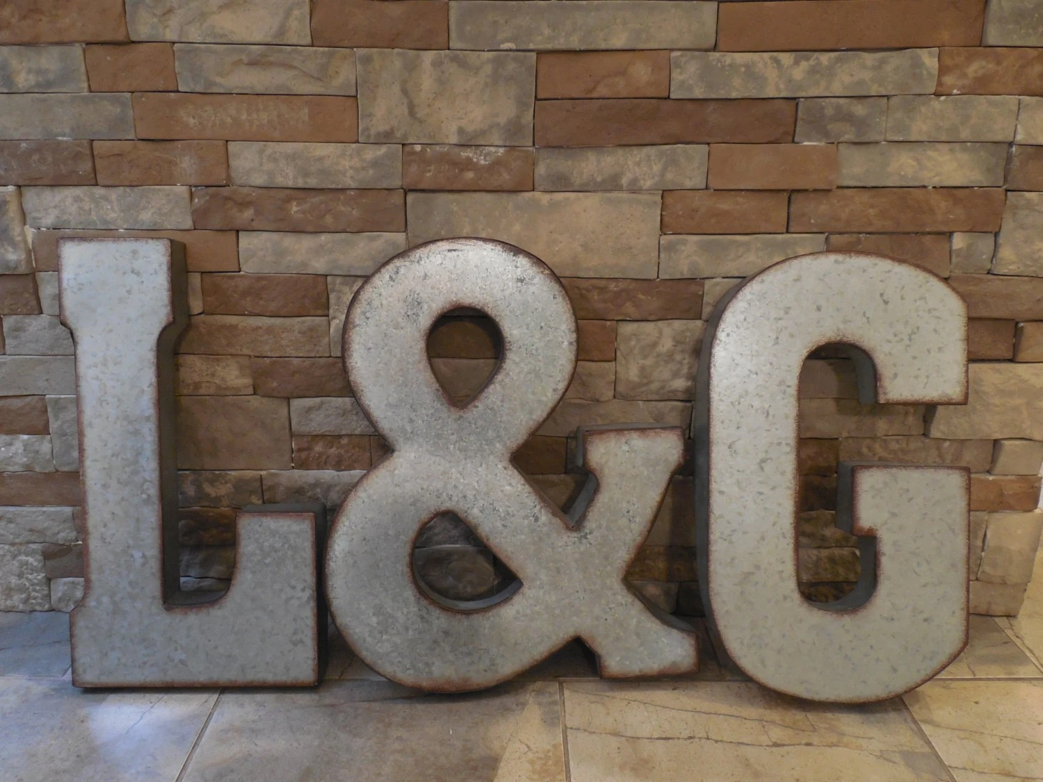 Large Metal Letters For Wall