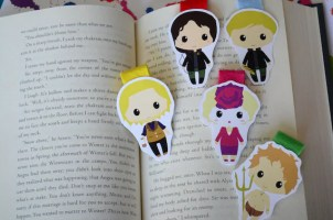 Hunger games Distopian magnetic bookmark