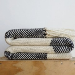 Black And White Checkered Sofa Bed Leather Dealers In Kerala Plaid Wool Throw Blanket Checkerboard Merino