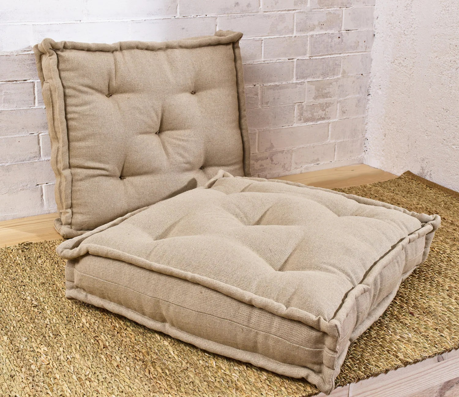 Pillows For Chairs Wool Filled Tufted Cushion Floor Cushion Square Chair