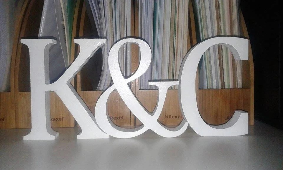 Free Standing Letters Etsy