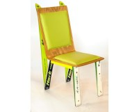 Recycled Ski Chair Modern Dining Chair Handmade Furniture