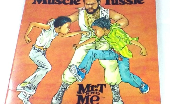 Vintage The Muscle Tussle Book 1985 Mr T By
