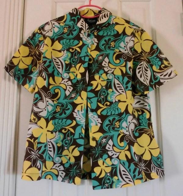 Vintage Hawaiian Shirt Girl' Royal Creations Flyingdollar