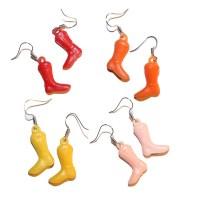 Vintage Cowboy Boot Earrings vintage cracker jack earrings
