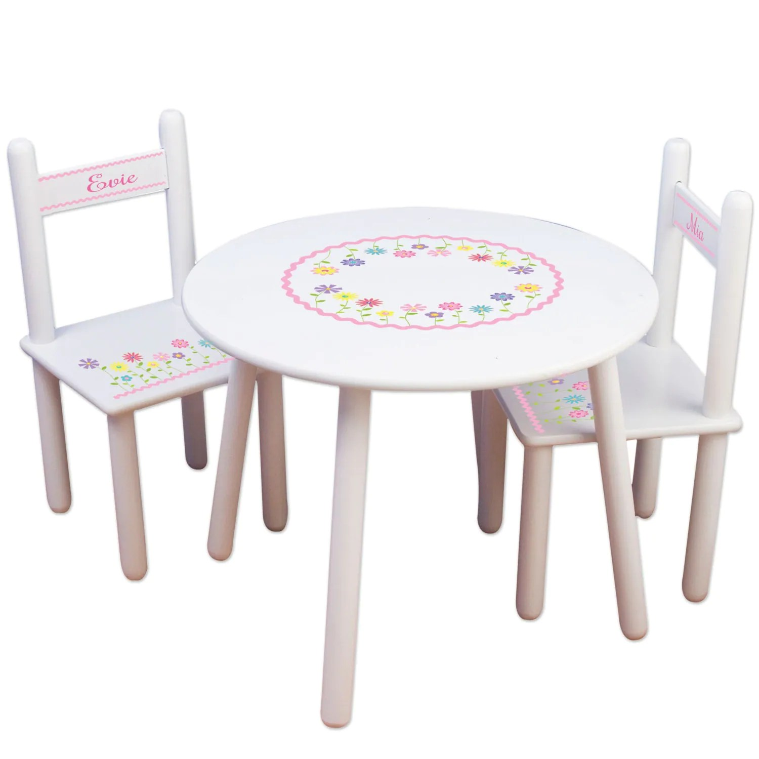 personalized kids chair www office chairs custom table and childrens furniture white