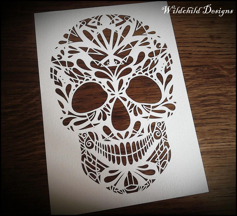 Sugar Skull Day Of The Dead Gothic Dark Alternative