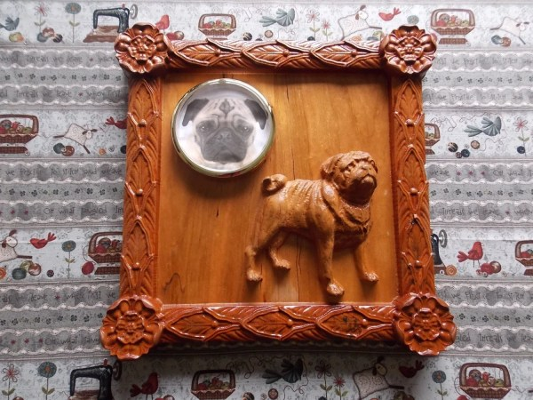 Wood Wall Art Pet Memorial Unique Personalized Pug
