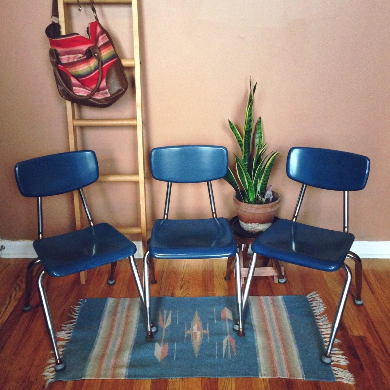 vintage school chairs haute juice