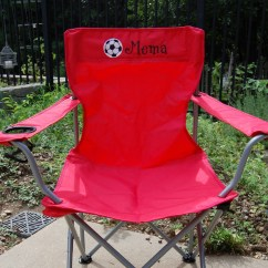 Custom Folding Chairs Antique Dentist Chair Personalized Adult Size Camping