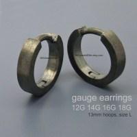 Gauge earrings 14 Gauge earrings body jewelry 12 gauge