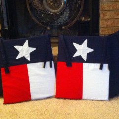 Custom Rocking Chairs Texas Ingenuity High Chair Canada Reviews Flag Pads Back Only