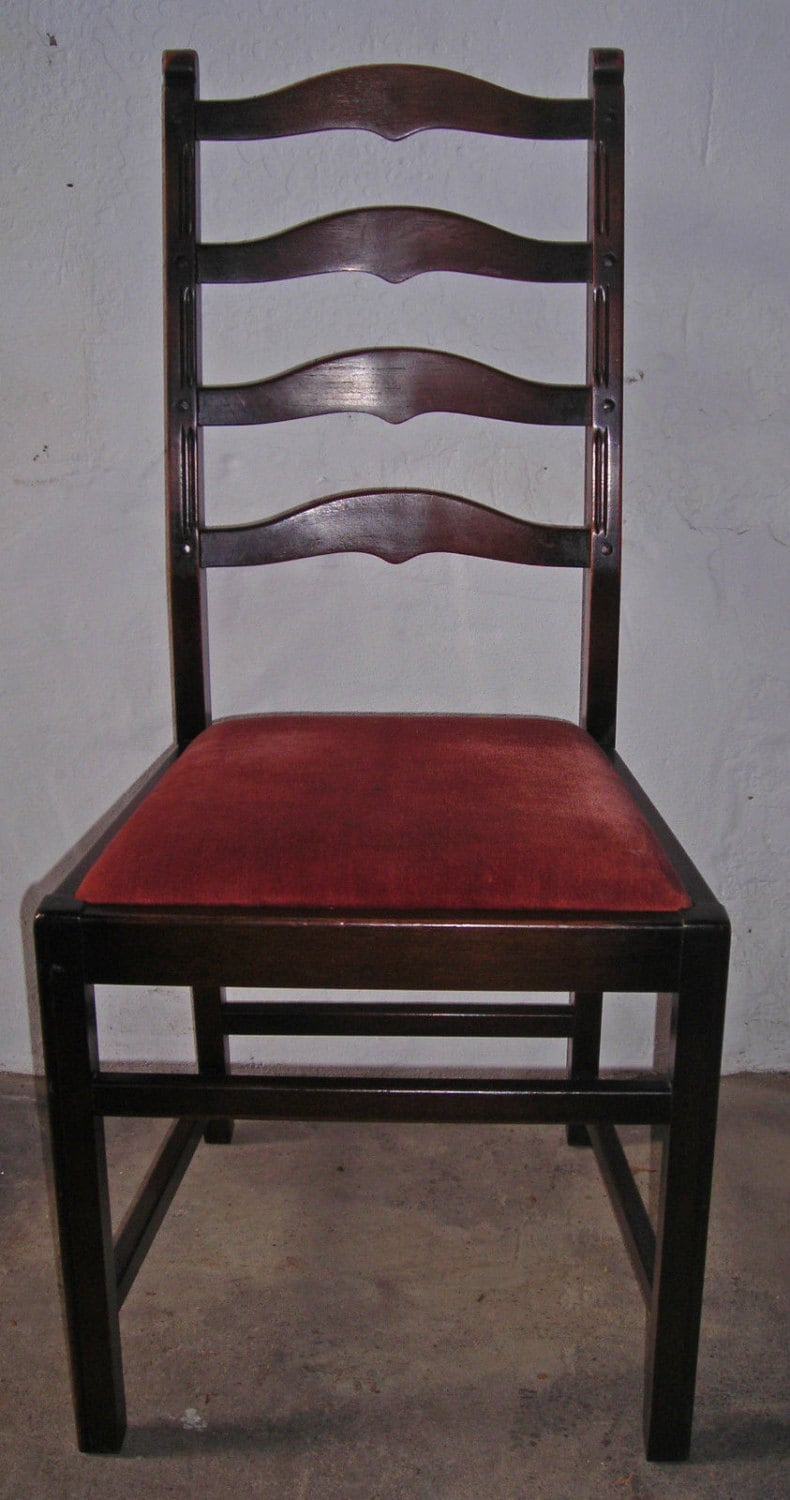 ercol solid oak ladder back dining chair haute juice