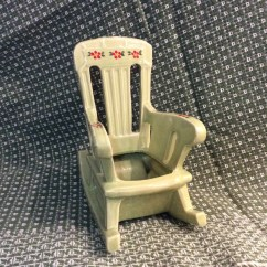 Green Rocking Chair Round Name Mccoy Lime Planter