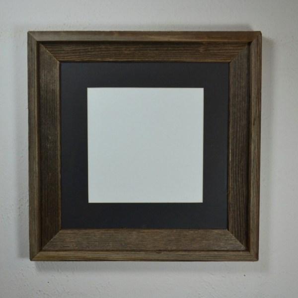 Frame 12x12 With Mat 10x10 8x8 Barnwood4u