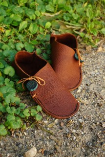 Handmade Leather Moccasins Shoes