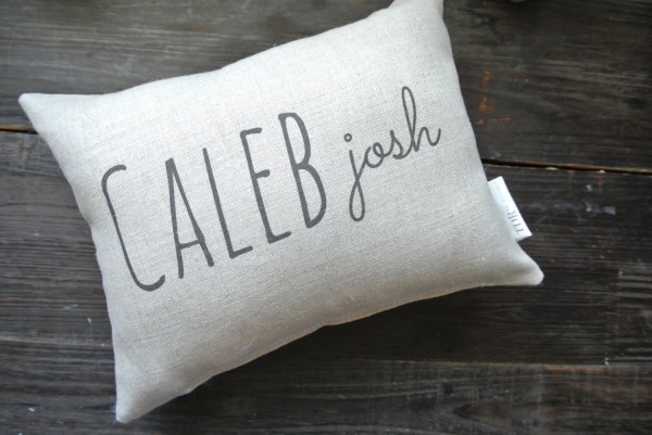 Personalized Pillow with Name
