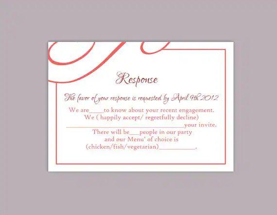 diy rsvp card template