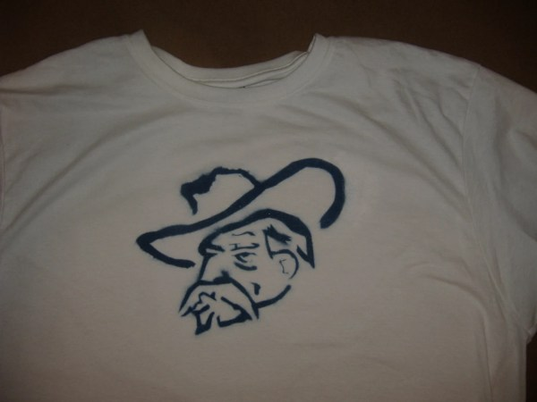 Colonel Reb Ole Hand Stencil And Airbrushed Painted
