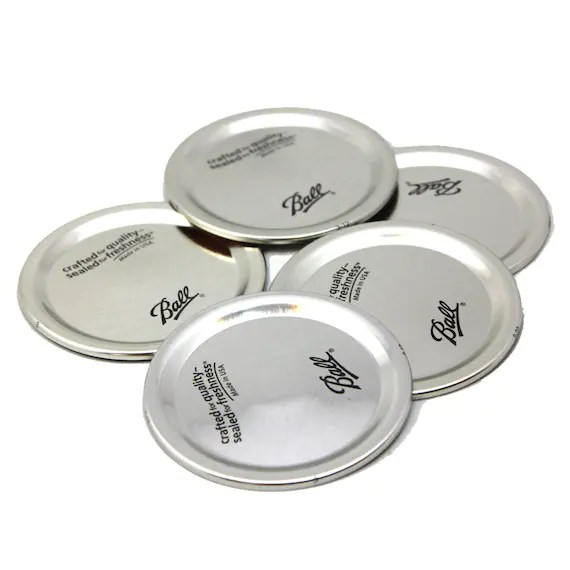 Ball Mason Jar Lids Regular and Wide Mouth by