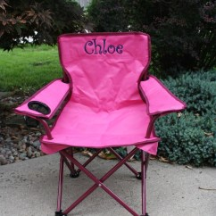 Personalized Little Kid Chair Wedding Covers Bands Toddler Girls Folding Camping Chairs
