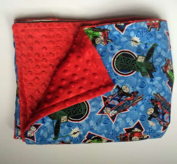 Thomas And Trains Blanket Flannel & Fleece