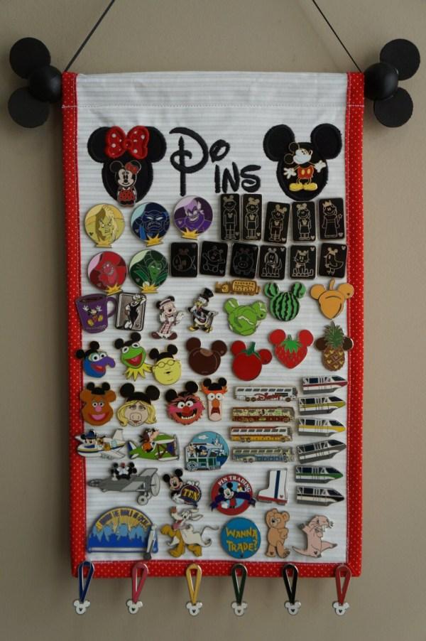 Disney Trading Pin Display