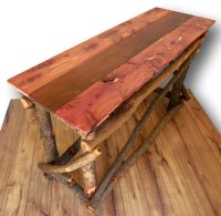 Reclaimed Wood Sofa Table Entryway Table Reclaimed by ...