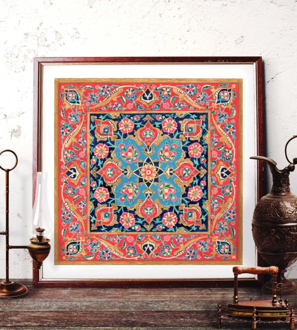 Traditional Turkish Paintings - Year of Clean Water