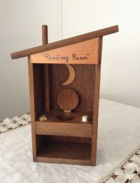 Vintage Wooden Country Outhouse Bathroom Decor Country Decor