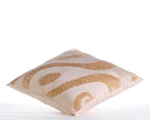 "Off White Throw Pillows Cover, 16""x16"