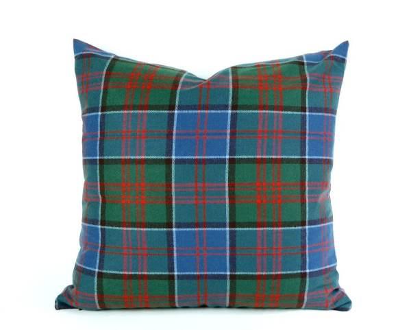 Wool Plaid Pillow Cover Tartan Throw Pillowthrowdecor