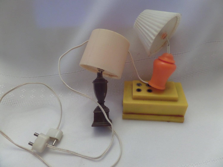 Vintage Dollhouse Lamps  Haute Juice