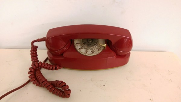 Winter Vintage Red Princess Rotary Phone Jazzysellers
