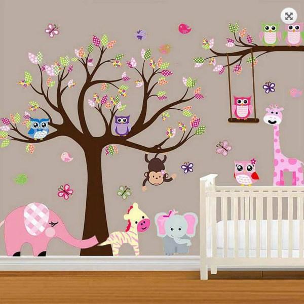 Baby Girl Nursery Wall Decal