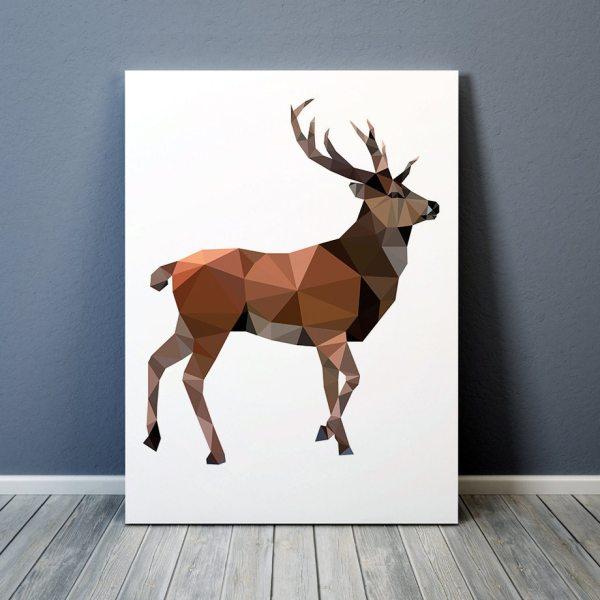 Geometric Animal Deer