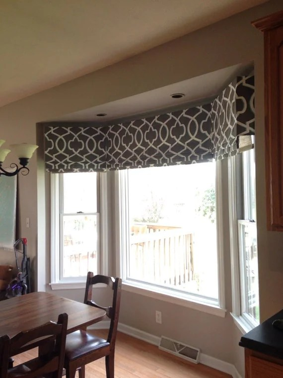 SIDE FLAP ADDITION For Faux fake Flat Roman Shades Valance