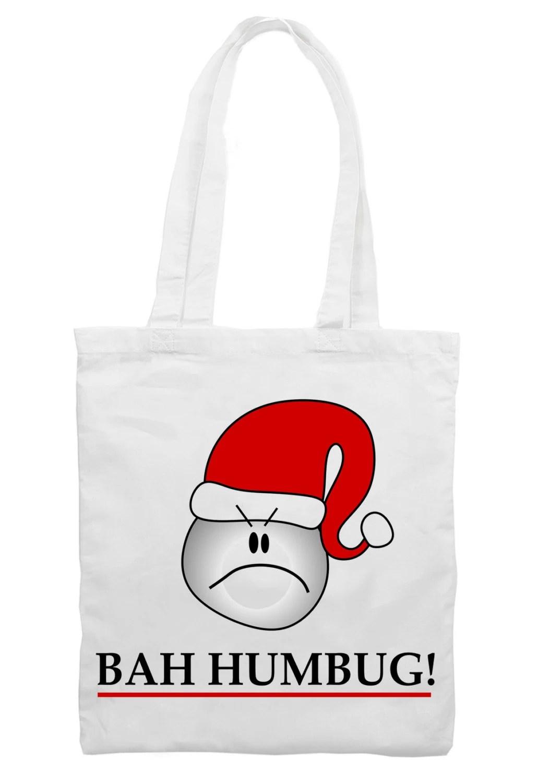 Bah Humbug Scrooge Christmas Shoulder Bag