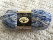 angel hair blue taupe stripe color