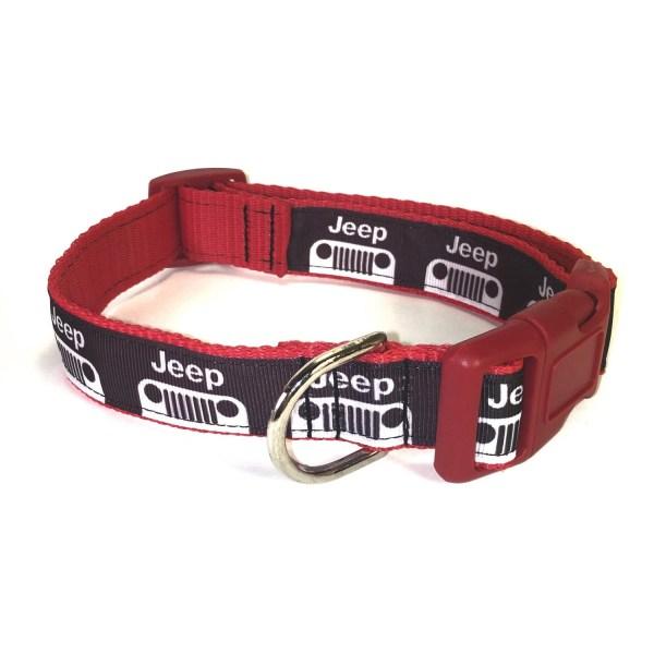 Adjustable Dog Collar Red Jeep Jeep Dog Collar Ribbon Dog
