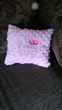 Baby's first pillow by BrittanyandCo13 on Etsy