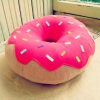 Donut Pillow Designer Pillow Decorative Pillow Home