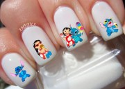 lilo and stitch nail decals